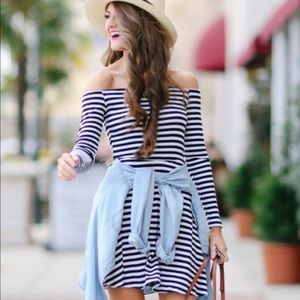 Lovers + Friends Off-Shoulder Dress, Size Small